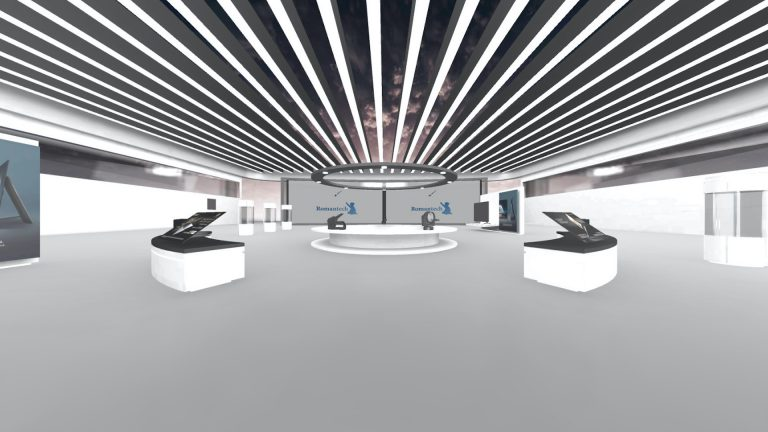 VR展示会例3